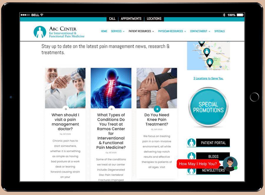 Healthcare Digital Marketing Blog Posts