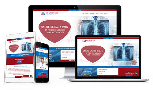 Request a presentation for urgent care, stand alone ER clinic website, social media, Email and digital marketing