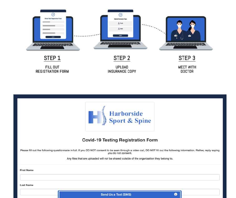 HIPAA Compliant Intake Forms