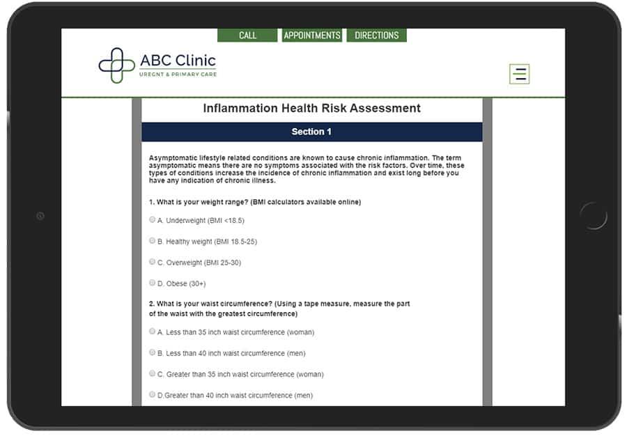 Medical Marketing Conversion Quiz App