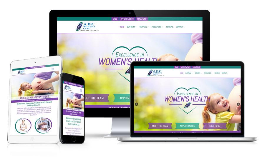 Example 11 - Medical Website Design