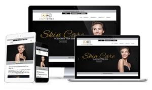 Example 4 - Medical Website Design