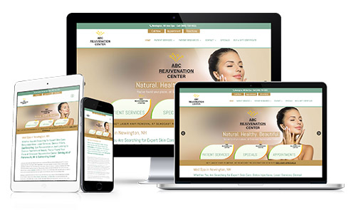 Request a presentation for aesthetics, skin care, dermatology medicine website and digital marketing
