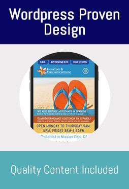 Medical Marketing Websites Bronze Service