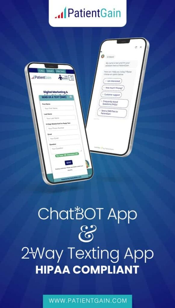 Medical Marketing Chatbots For Improved Patient Satisfaction and Conversion to Appointments