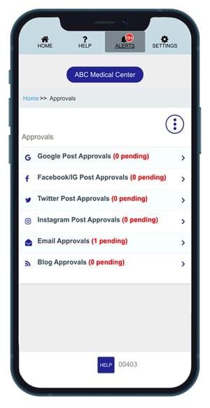 Social Media Posting Funnel App for Doctors & Dentists $299/mon.