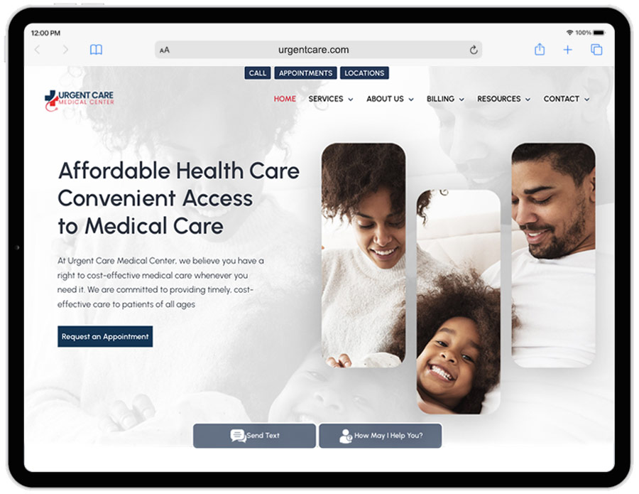 Urgent Care Marketing Services